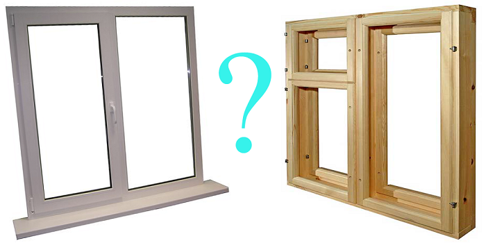Пластиковые или деревянные окна что лучше