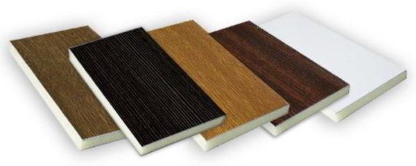 Фото HPL-панели из бумажно-слоистого пластика, изготовленного путем прессовки