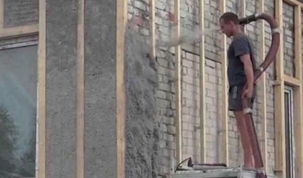 Утеплитель меж стен