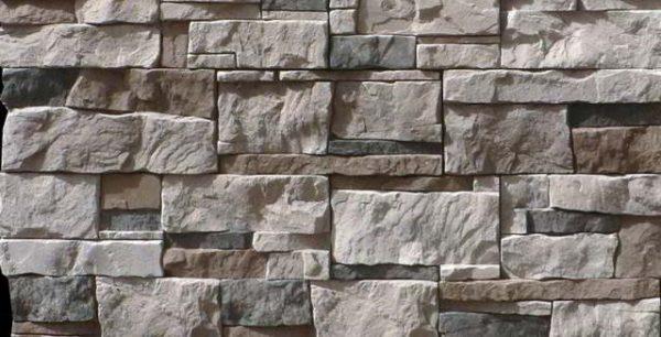 Фото панели из натурально камня.